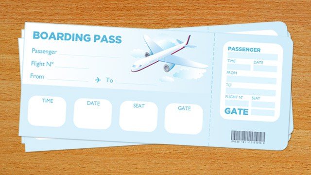 printable boarding pass for kids