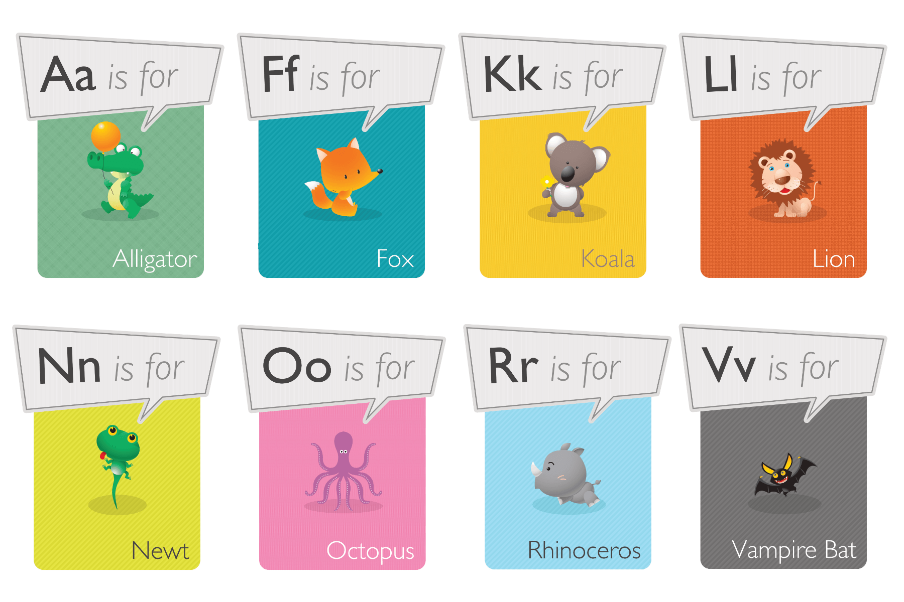 animal alphabet phonetic alphabet free classroom