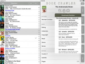 app for organising your library of books