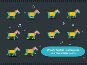 ipad app for creating simple animations for children