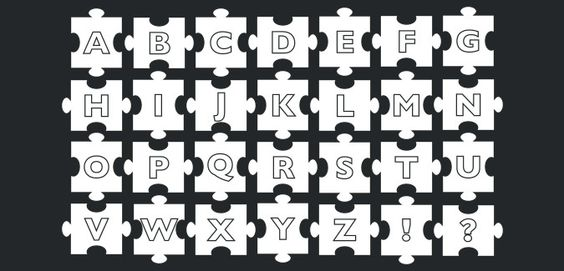 jigsaw alphabet free printable
