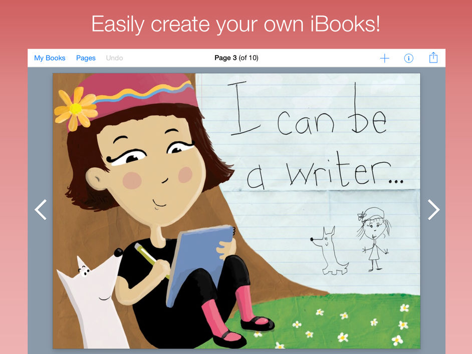 create and publish a book on the ipad