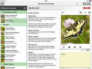identify butterfly app for ipad