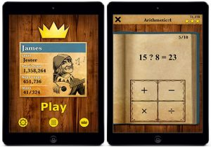 king of maths app for ipad