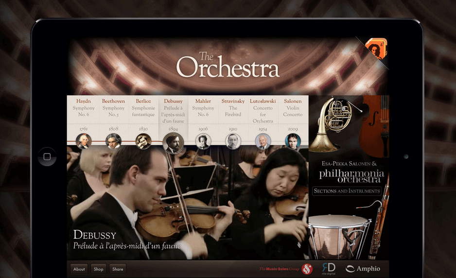 orchestra ipad app music