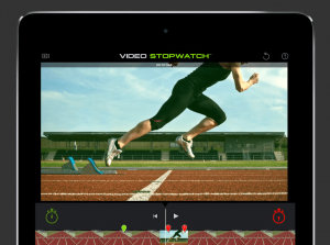 video stopwatch for ipad measure time between two points
