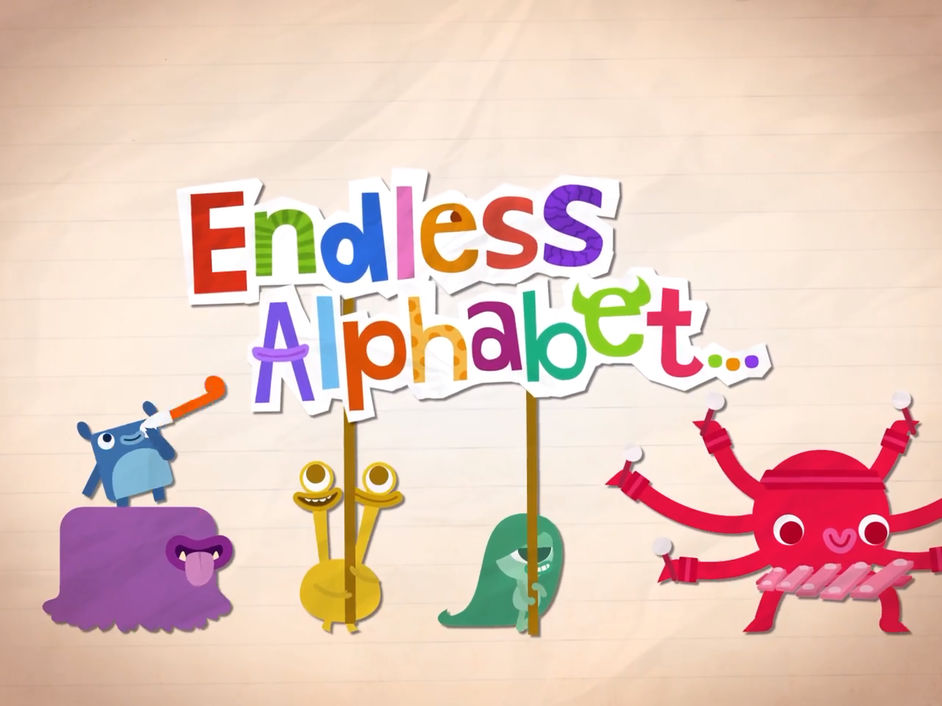 endless alphabet app for learning words and spelling