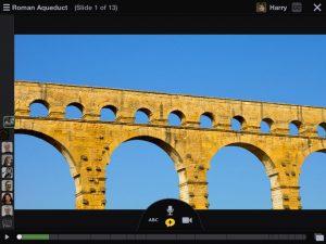 voicethread audio presentation app